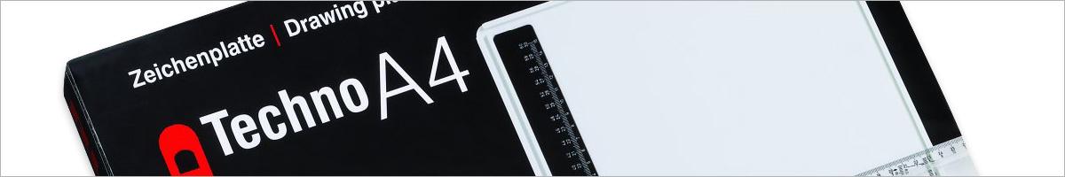 Rumold 353611 Zeichenplatten-Tasche Rumold A3 620 x 475 x 15 mm schwarz
