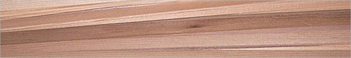 Leisten aus Redzederholz