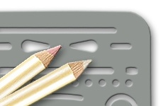 Eraser Pencils + Templates