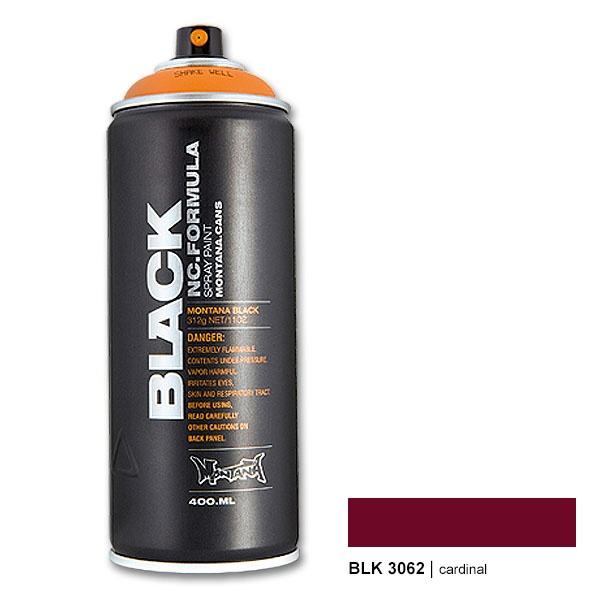 Montana Black 3062 cardinal 400 ml Spray Paint