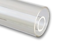 Acrylic Glass Tubes satin