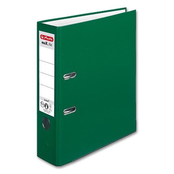herlitz Ordner maX.file protect Rückenbreite 80 mm weiß