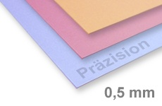 Acrylic Glass Precision Colored 0,5-0,8