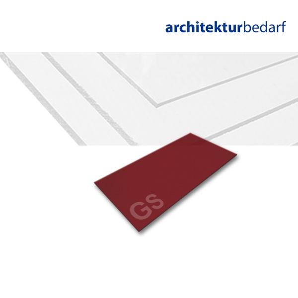 acrylglas gs rot 3c01 jetzt kaufen bei. Black Bedroom Furniture Sets. Home Design Ideas