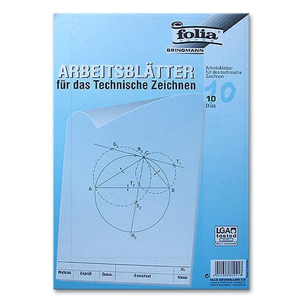 Arbeitsblätter A4 für technisches Zeichnen - jetzt kaufen bei ...