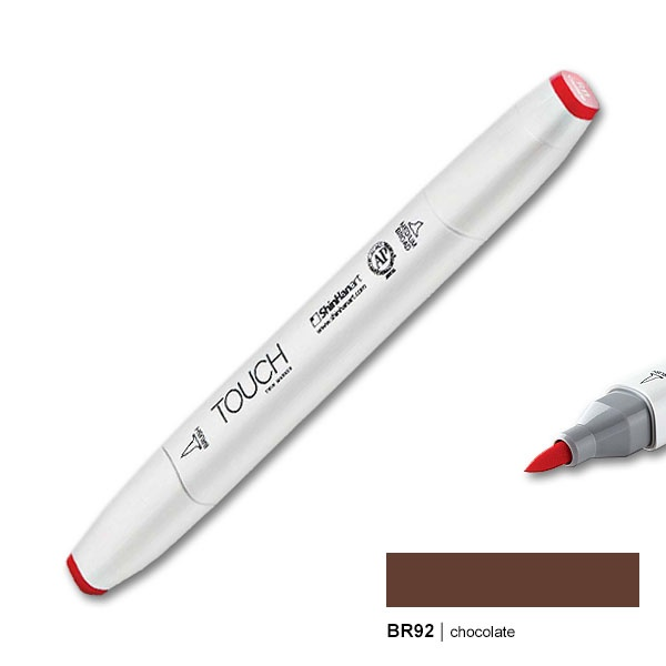 Chocolate Touch Twin Marker Brush BR92 Layoutmarker