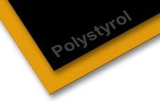 Polystyrol farbig