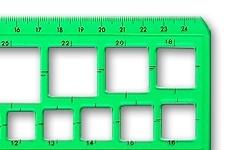 Quadratschablonen