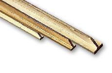 Brass T-Profiles non-isosceles