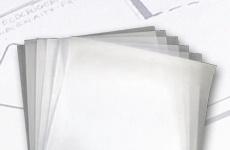 Transparentzeichenpapier Bogen