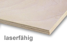 Birch Ply Wood  Laser-Suitable