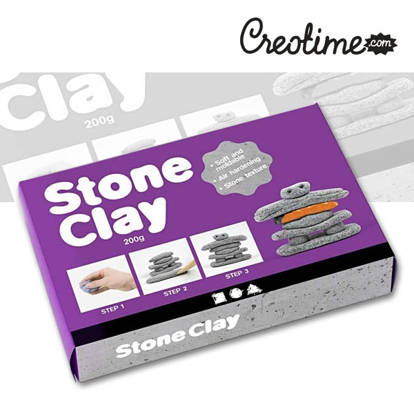 stone clay 200g jetzt kaufen bei. Black Bedroom Furniture Sets. Home Design Ideas