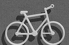 Fahrräder aus Polystyrol
