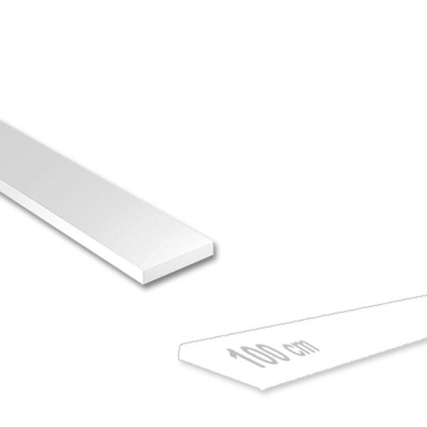 Messing T-Profil gefräst 3,0 x 2,0 mm Länge 100 cm ungleichschenklig