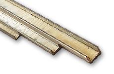 Brass U-Profiles non-isosceles