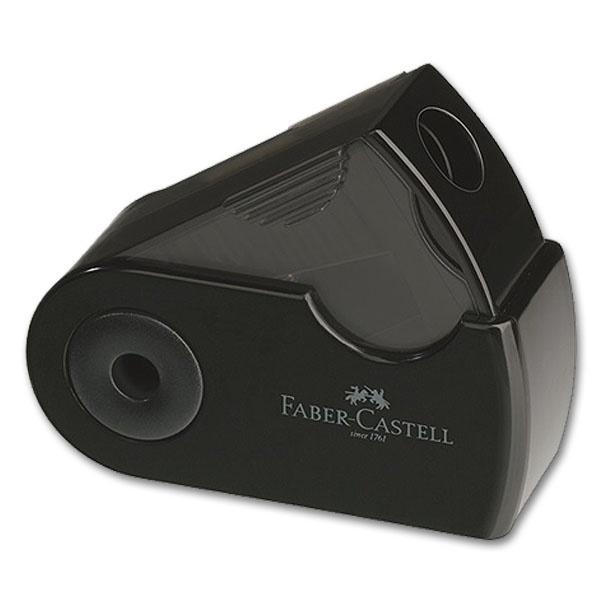 Shpitzer pliante Spitzdose mini noir Faber-Castell 182710 Crayon Pour Crayon