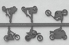 Motorräder aus Pappe