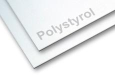 Polystyrol weiß