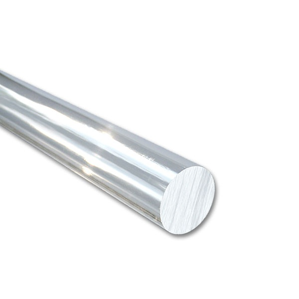 Perspex Round /Ø 20 mm Long 1000 mm Acrylic Rod Clear colorless