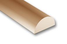 Wooden Semicircular Rods