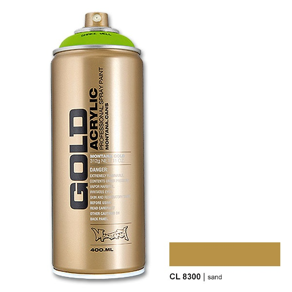 Montana Gold CL8300 sand 400 ml Spray Paint