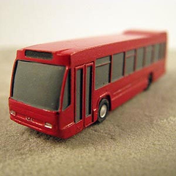 Stadtbus unbemalt 1:200 aus Resin und Metall