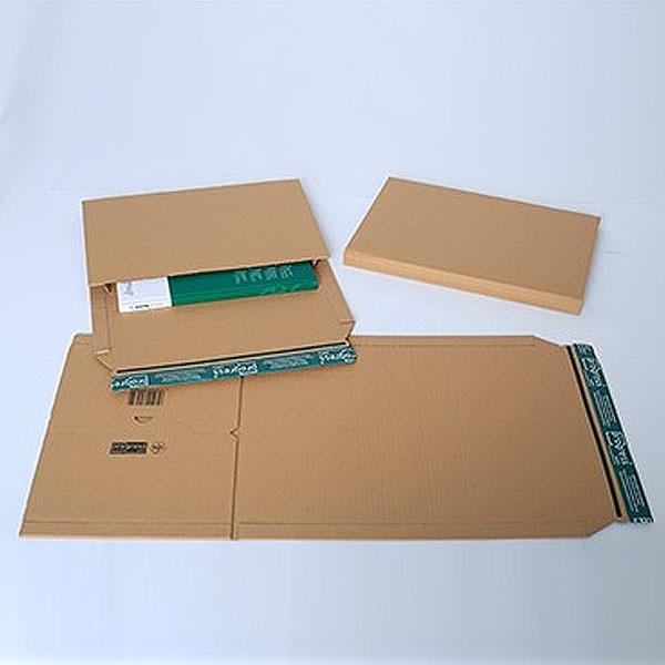 Buchverpackung A5 braun//braun 15,5 x 21,7 x 6,0 cm progress pack