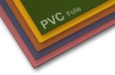 PVC-Folie farbig