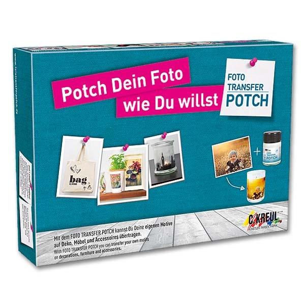 foto transfer potch startset jetzt kaufen bei. Black Bedroom Furniture Sets. Home Design Ideas