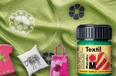 Textile + Silk Paints