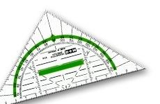 Geometriedreiecke 16 cm