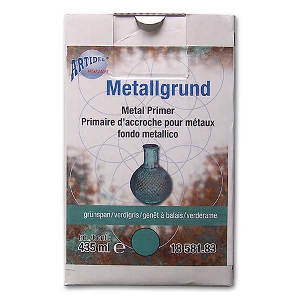 Metall Effekt Wandfarbe Kupfer: Startset Grünspan-Effekt