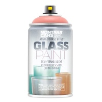 Montana Glass Paint Frosted Coral Red