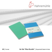 Skizzenheft Sketch & Note, Blue Bundle A5 hoch