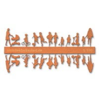 Figure Set Children, 1:100, orange