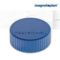 magnetoplan Discofix Rundmagnete magnum, dkl.blau
