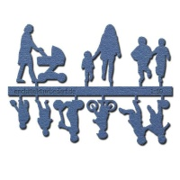 Figure Set Children, 1:50, blue