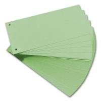 Separation Strips, green, 100 pcs.