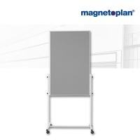 magnetoplan Universal Board, (B)750 x (H)1.200 mm, Filz grau