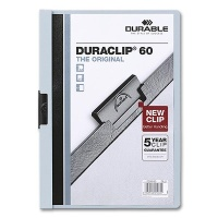 Klemmmappe Duraclip 60 - A4 blau