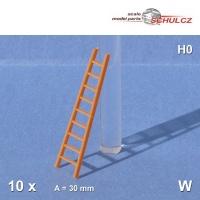 10 Steckleitern Feuerwehr