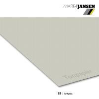 Tonzeichenpapier 130g/m² DIN A4, 83 lichtgrau