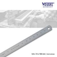 Stahlmaßstab 0,5 x 13 x 150 mm