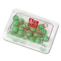 Alco Map Pins 5 mm light green