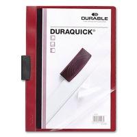 Klemmmappe Duraquick A4 rot