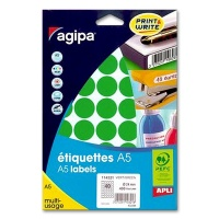 agipa Marking Points, Ø 24 mm, green