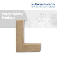 Buchstabe Papier-Mâché - L