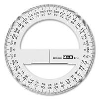 M+R Vollkreis Winkelmesser 10 cm