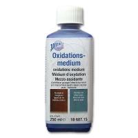 Oxidationsmedium dunkelbraun / grünspan