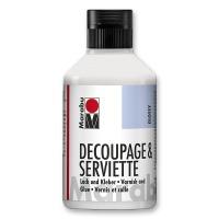 Servietten-Lack&Kleber 250 ml Flasche glänzend
